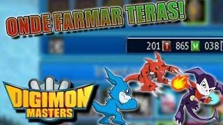 ONDE FARMAR TERAS! - Digimon Masters Online