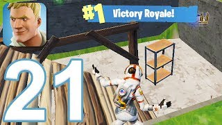 Fortnite - Gameplay Walkthrough Part 21 - Season 3 Win #4 (iOS)