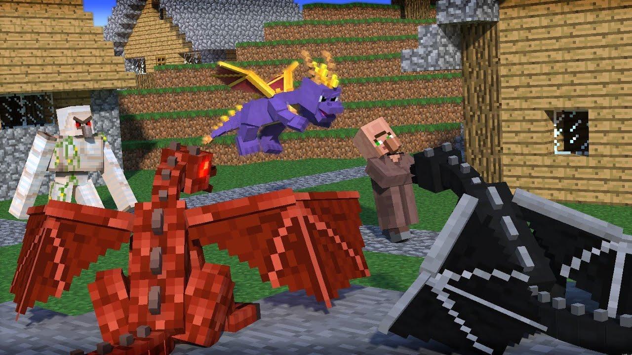 дракон в майнкрафте картинки джанлуки завоевали несколько