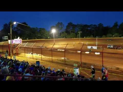 Turners Heat race 5/29/17 Flomaton Speedway