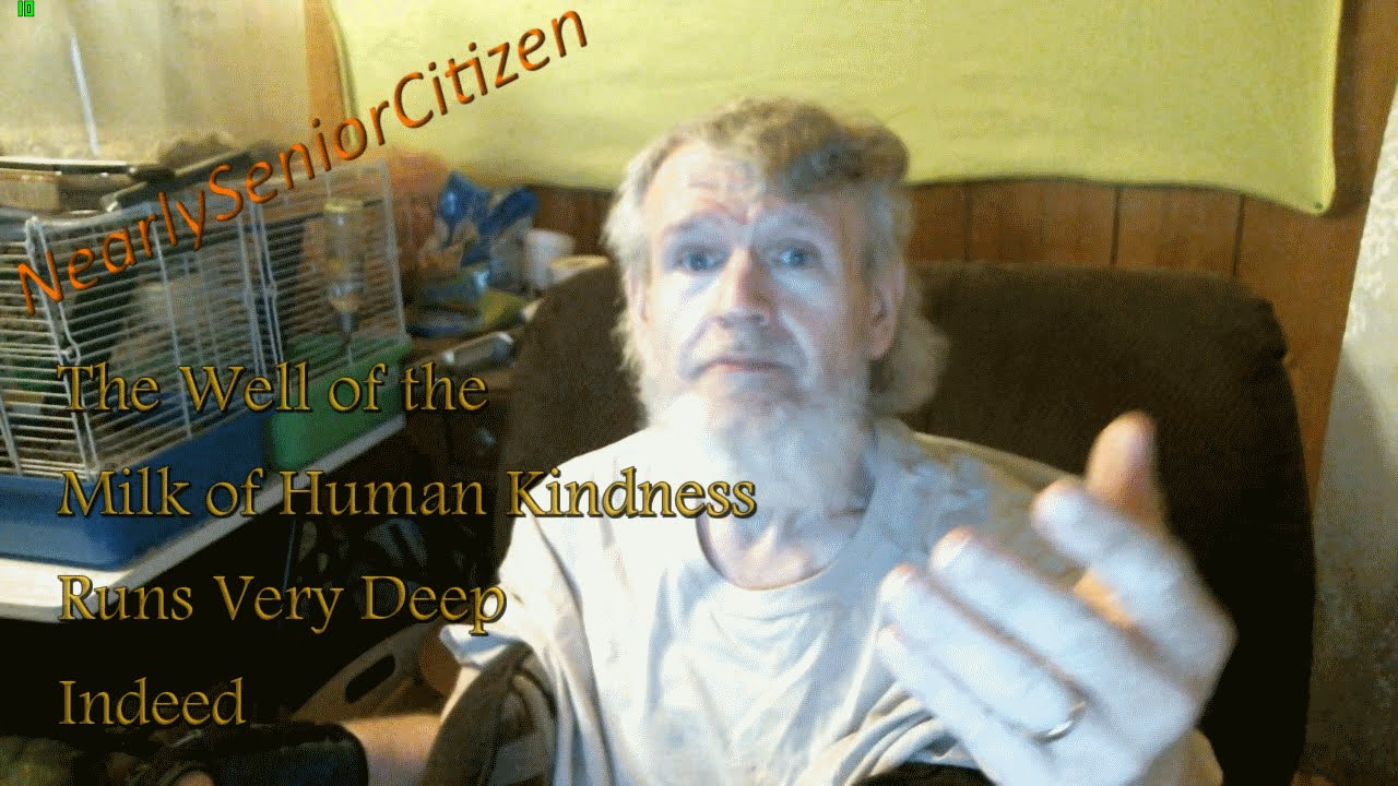 The Well Of The Milk Of Human Kindness Runs Deeper Still - YouTube