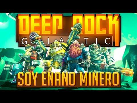 SOY ENANO MINERO | DEEP ROCK GALACTIC #AlphaReport Juego Coop