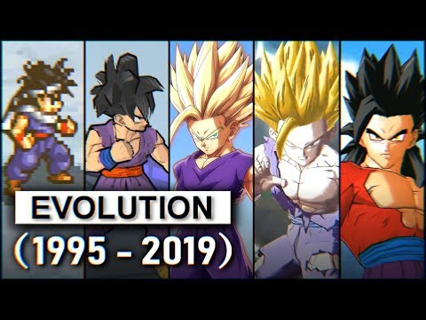Gohan - Evolution (1995-2019) 孫悟飯 進化の軌跡 | Dragon Ball