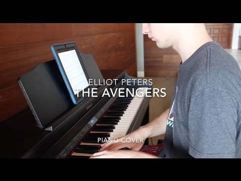 The Avengers Theme Piano Cover | Elliot Peters