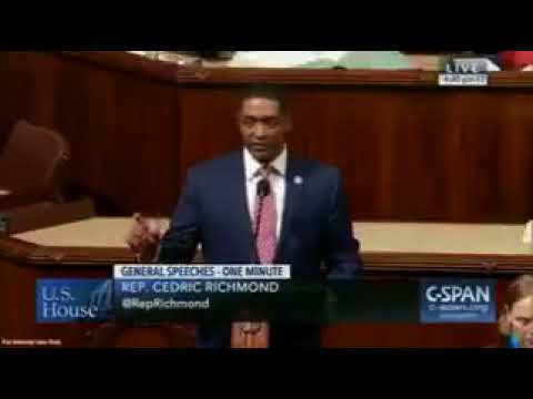 Watch Cedric Richmond speak on House floor about LaToya Cantrell, after backing her opponent