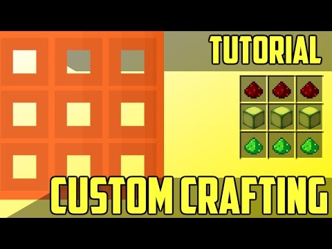 Custom Dropper and Dispenser Crafting - Minecraft Command Block Tutorial [1.10][1.9]
