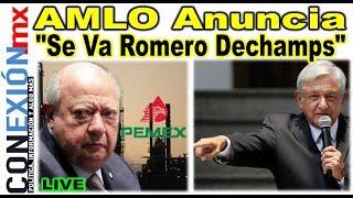 Llega a su fin el reinado de Romero Deschaps en Sindicato Petrolero: AMLO