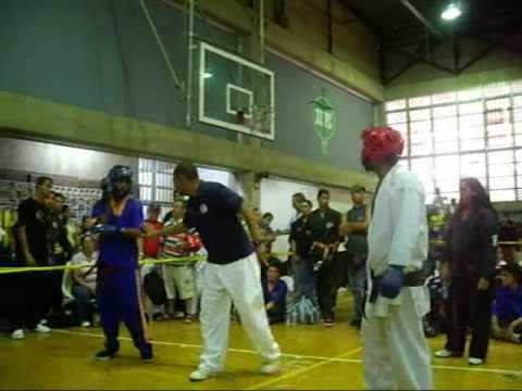Team Avami-X 2009 Luis Requena  point sparring (nacional Boller Sai) Caracas Videos De Viajes