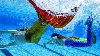 Финны учатся плавать, как русалки