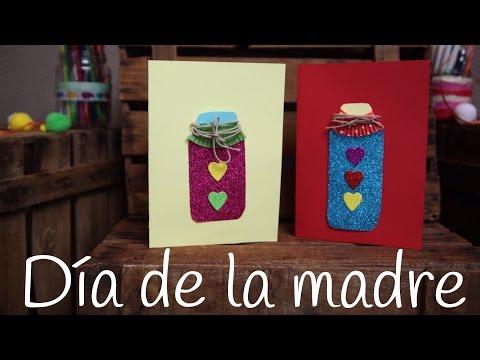 Tarjeta para el día de la madre, una felicitación original y diferente