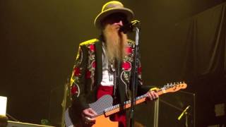 billy gibbons + the bfgs pickin' up chicks on dowling st.  gramercy theatre nyc 2016-02-02