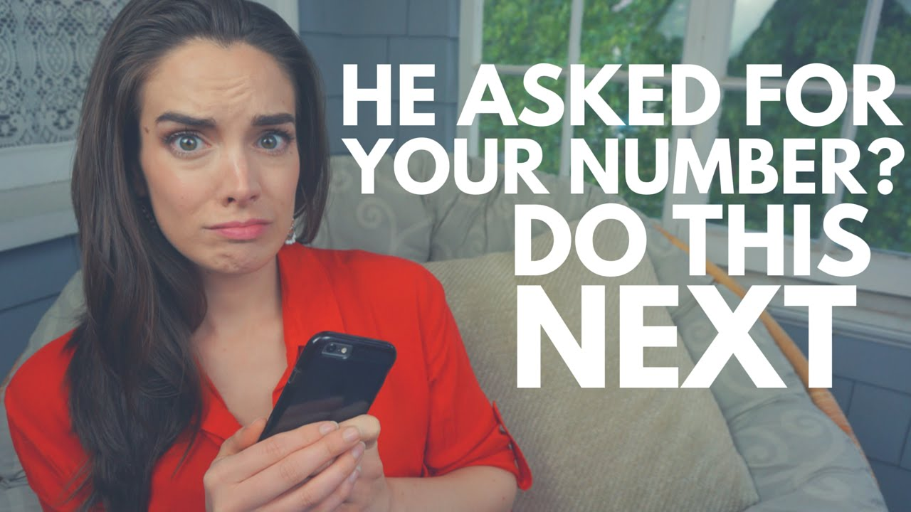 So He Asked For Your Number? Do This Next // Amy Young