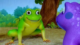 A Tale of Two Frogs   Bengali Stories for Kids   Infobells