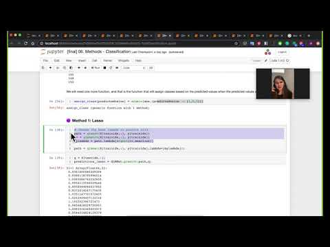 Julia For Data Science - Video 6: Classification, By Dr. Huda Nassar (for JuliaAcademy.com)