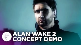 13 minutes of gameplay from Alan Wake 2 (unreleased)
