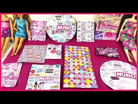 Sürpriz Oyuncak Paketleri Nubo Barbie Kıyafetleri Dila Kent