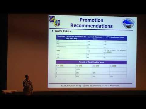 JBER Enlisted Evaluation System Townhall