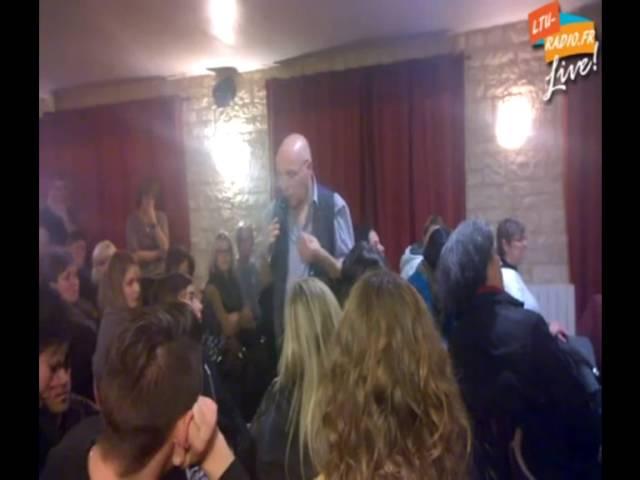 Conférence médiumnique à Halloy - Prénom, hyper empathie, médiumnité publique 14 11 2015