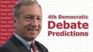 4th Democratic Debate Predictions | QT Politics