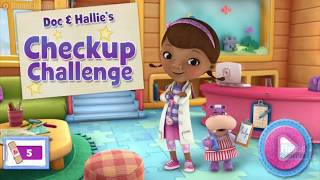 Doc Hallies Checkup Challenge / Disney Junior Games / Browser Flash Games / Gameplay Video