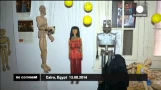Танец живота египетской куклы