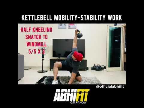 KETTLESTORM - Mobility/Stability by Abhinav Malhotra