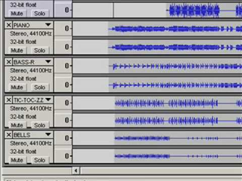 "Multi-Track Recording with ""AUDACITY"" software -- 3/4"