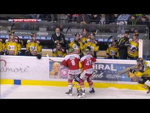 Erste Bank Eishockey Liga, Halbfinale 2: HC Bozen - UPC Vienna Capitals 2:3