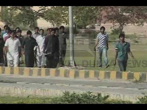 Dunya News-Multan: 5 injured as student orgs clash at BZU