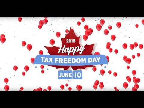 Fraser Institute: Happy Tax Freedom Day 2018