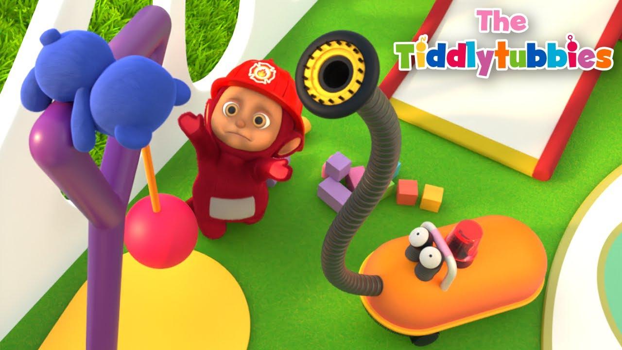Teletubbies ★ NOUVEAU Tiddlytubbies 3D Saison 4 ★ Épisode 16: Urgence!
