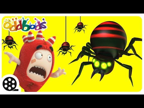 Giant Spider | Oddbods | Funny Cartoons For Kids