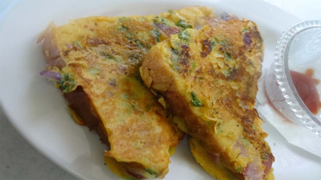 French Toast (eggless) Recipe  Quick Breakfast Recipe  How To Make French  Toast (eggless) Recipe