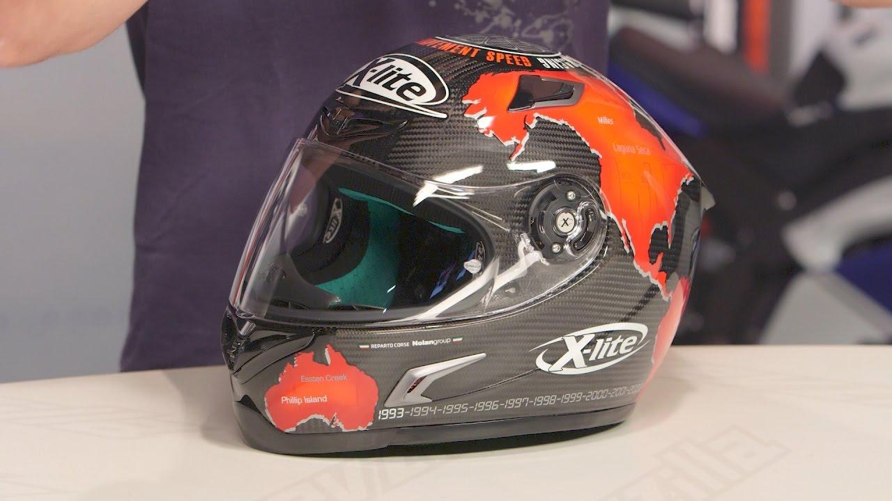 fc800fc9 X-LIte X-802RR Ultra Carbon Checa Replica Helmet Review at RevZilla.com