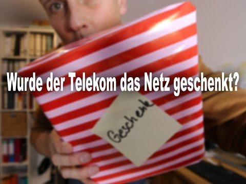 Telekom Netzblog: Wurde der Telekom das Netz geschenkt? #EineFrage