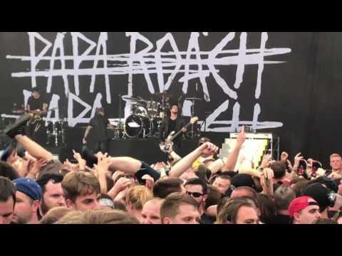 Papa Roach - Help @ Rock on the Range (May 20, 2017)
