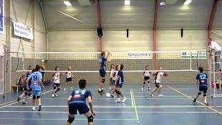 Volleybal Dordrecht - Twente