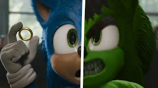 Sonic The Hedgehog Movie Choose Your Favorite Desgin For Both Characters Hulk Superheroes VS Sonic 2