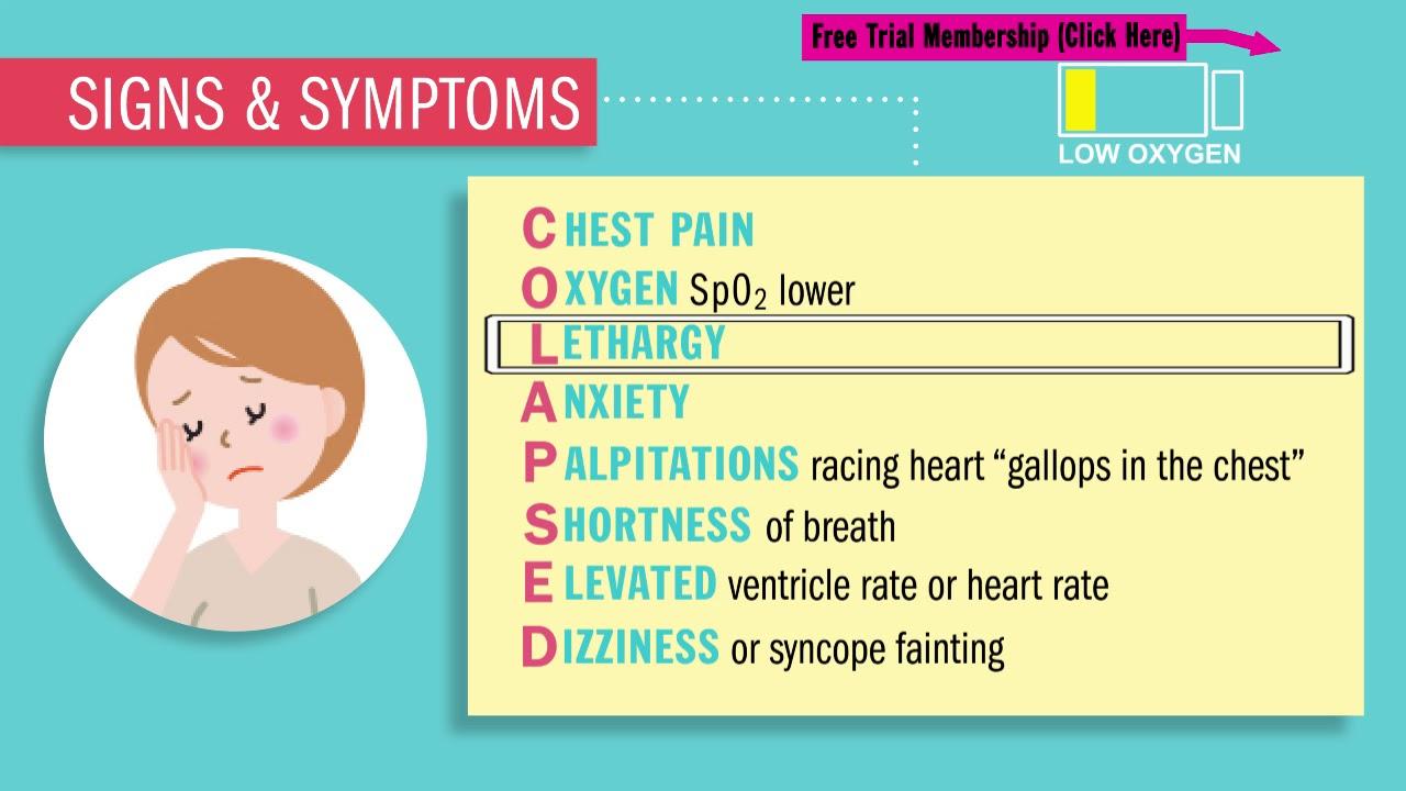 How to treat a tachycardia