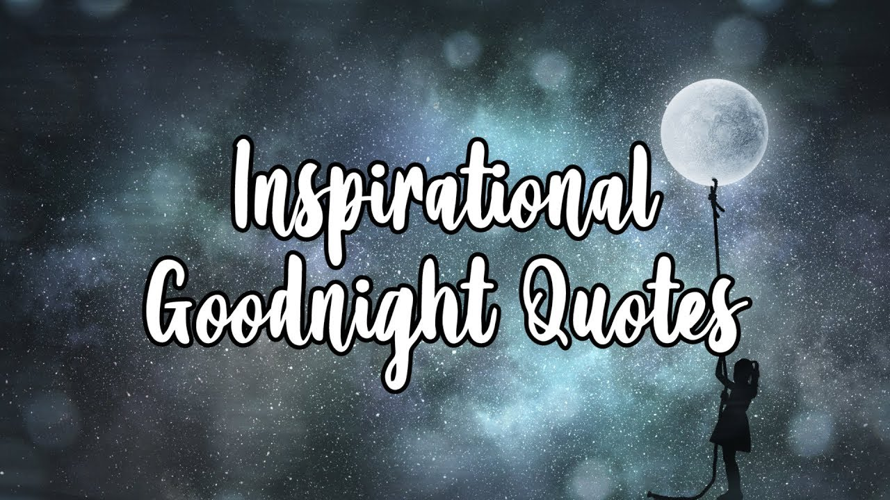 Goodnight Quotes For Him and For Her - YouTube