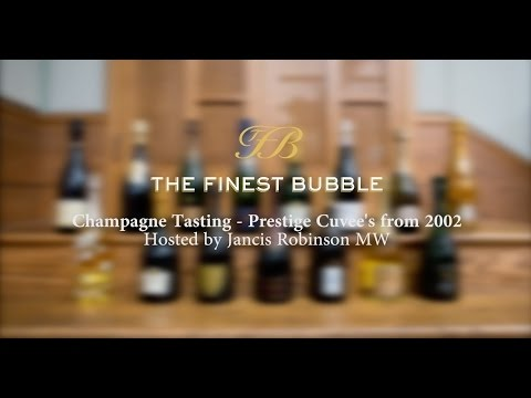 Prestige Cuvée Champagnes from 2002: Tasting hosted by Janci