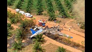 Se estrelló avión en el Meta: murieron sus 14 ocupantes | Noticias Caracol