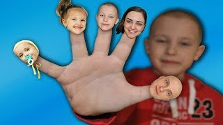 Finger Family Song (Daddy Finger) Family Version. Nursery Rhymes songs for kids