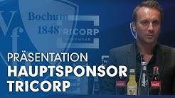 Tricorp ist neuer Hauptsponsor des VfL Bochum 1848