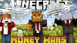 Minecraft MONEY WARS 'SNEAKY SPY ATTACK' #2 w/ BajanCanadian & Nooch | JeromeASF