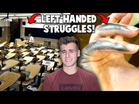 Thumbnail: Struggles Only Left Handed People Understand!