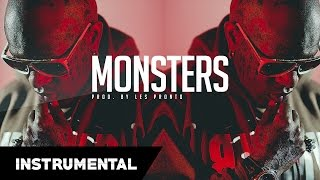Trap Beat   New & Hot Trap Beat Instrumental - Monsters (Prod. By Les Pronto)