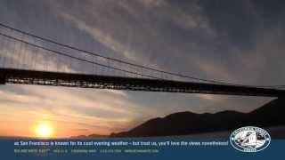 Enjoy Sunset Views of San Francisco Bay - California Sunset Cruise