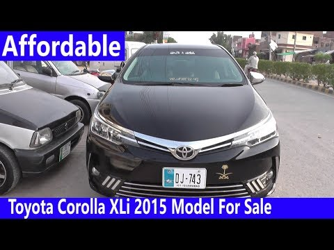 Toyota Corolla XLi 2015 Model For Sale | interior, Exterior & Price Detail | Complete Review