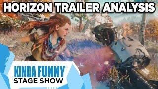 Horizon: Zero Dawn Trailer Analysis - Kinda Funny Stage Show E3 2015